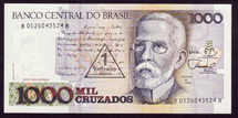 Brazil 1 cruzado on 1000 Cruz Pick 216b