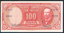 Chile 100 pesos Pick 127