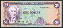 Jamaica 1 dollar Pick 54