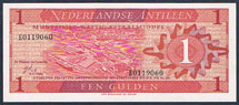 Netherlands Antilles 1 gulden 1970 Pick 20