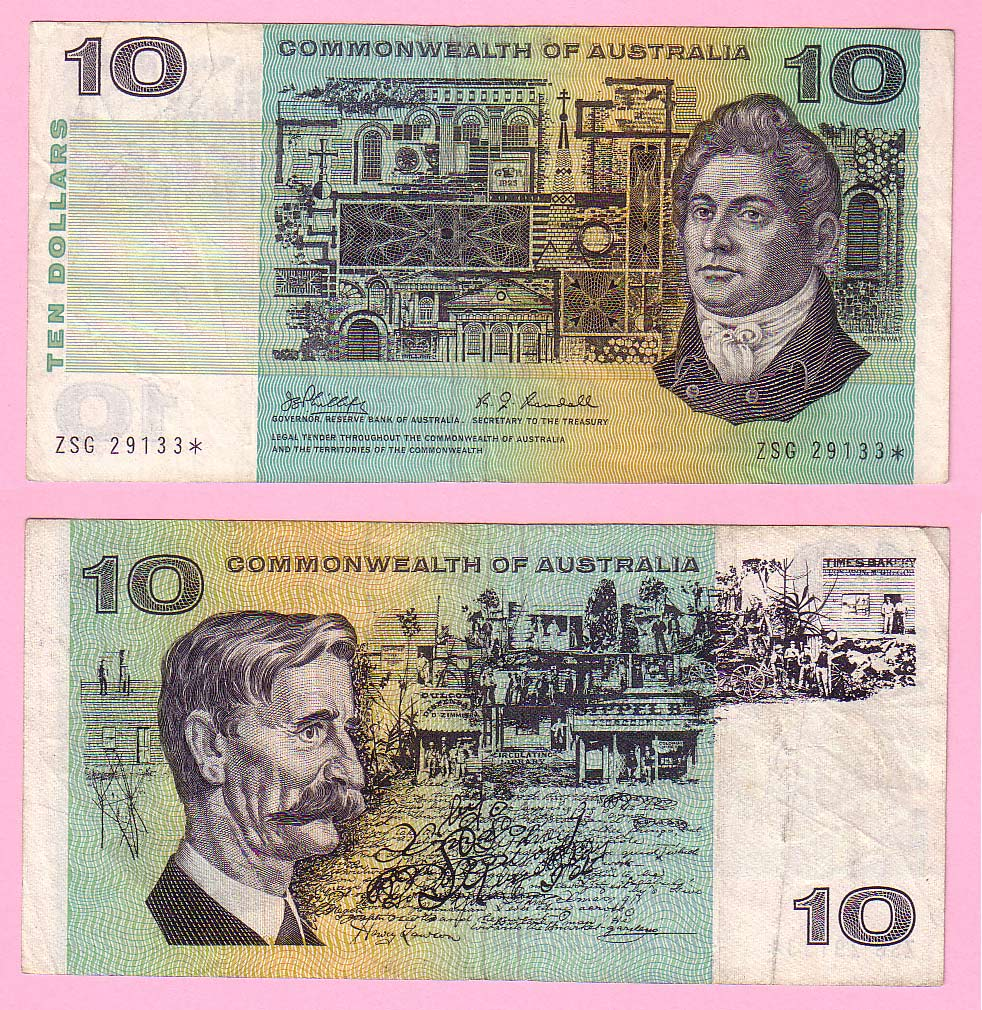Notes of the World - Banknotes of Australia - Buy Paper Money
